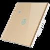 Умный выключатель ROXIMO сенсорный, однокнопочный